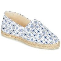 Pantofi Femei Espadrile Maiett ASANOHA Albastru / Alb