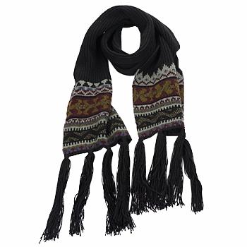 Accesorii textile Femei Esarfe / Ș aluri / Fulare Essentiel ZILE Negru / Kaki