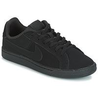 Pantofi Copii Pantofi sport Casual Nike COURT ROYALE GRADE SCHOOL Negru