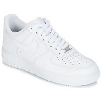Încăltăminte Bărbați Pantofi sport Casual Nike AIR FORCE 1 07 Alb