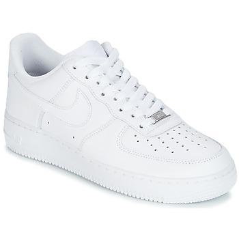 Pantofi Bărbați Pantofi sport Casual Nike AIR FORCE 1 07 Alb
