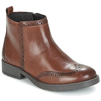 Pantofi Fete Ghete Geox J SOFIA F Maro