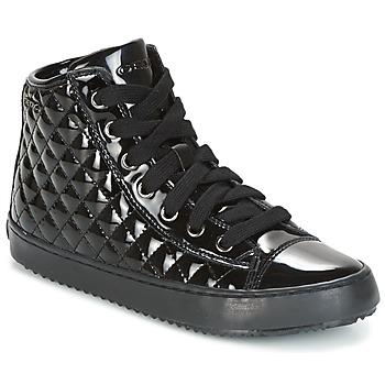 Pantofi Fete Pantofi sport stil gheata Geox J KALISPERA G.F Negru