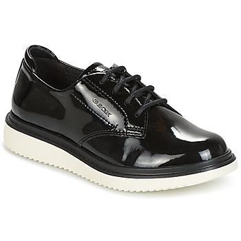 Pantofi Fete Pantofi Derby Geox J THYMAR G. B Negru