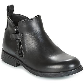 Pantofi Fete Ghete Geox J AGATA C Negru