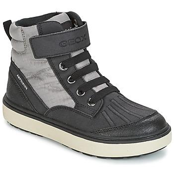 Pantofi Băieți Pantofi sport stil gheata Geox J MATT.B ABX B Gri / Negru