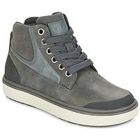Pantofi Băieți Pantofi sport stil gheata Geox J MATT.B ABX C Gri