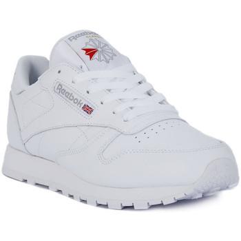 Pantofi Bărbați Pantofi sport Casual Reebok Sport CLASSIC LTHR Bianco