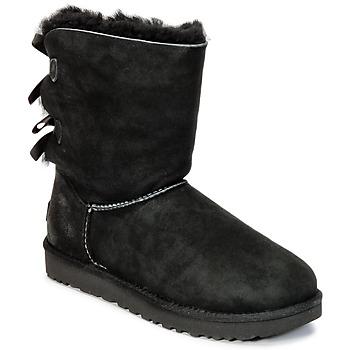 Pantofi Femei Ghete UGG BAILEY BOW II Negru