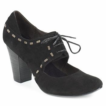 Încăltăminte Femei Pantofi cu toc Sans Interdit ELINE Negru