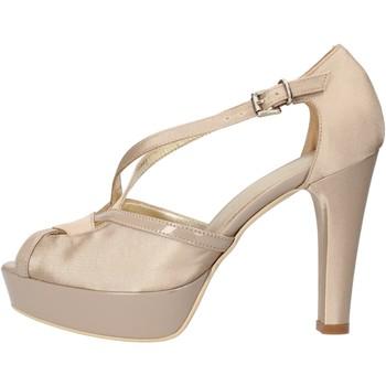 Pantofi Femei Sandale  Sergio Cimadamore sandali beige raso vernice AF482 Beige