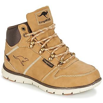 Pantofi Băieți Ghete Kangaroos BLUERUN 2098 Miel