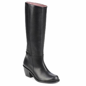 Pantofi Femei Cizme casual Robert Clergerie ALCOR Negru