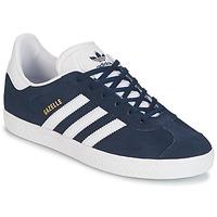 Încăltăminte Băieți Pantofi sport Casual adidas Originals GAZELLE J Bleumarin