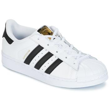 Pantofi Copii Pantofi sport Casual adidas Originals SUPERSTAR Alb / Negru