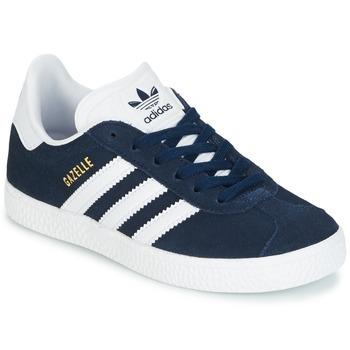 Încăltăminte Băieți Pantofi sport Casual adidas Originals Gazelle C Bleumarin