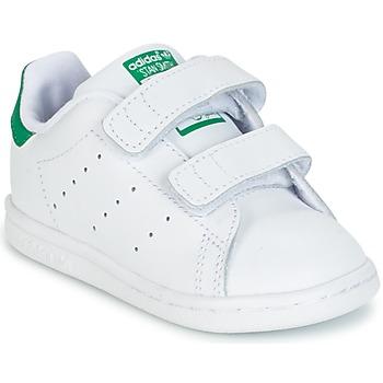Pantofi Copii Pantofi sport Casual adidas Originals STAN SMITH CF I Alb / Verde