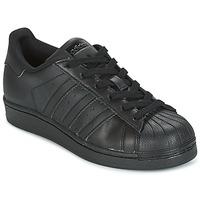 Pantofi Copii Pantofi sport Casual adidas Originals SUPERSTAR Negru