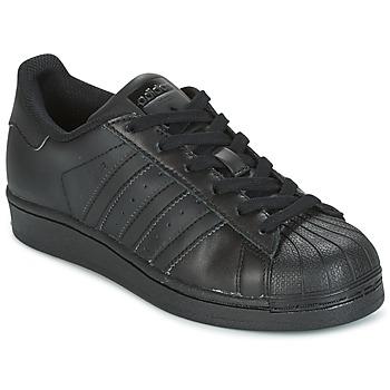 Încăltăminte Copii Pantofi sport Casual adidas Originals SUPERSTAR Negru