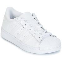 Pantofi Fete Pantofi sport Casual adidas Originals SUPERSTAR Alb