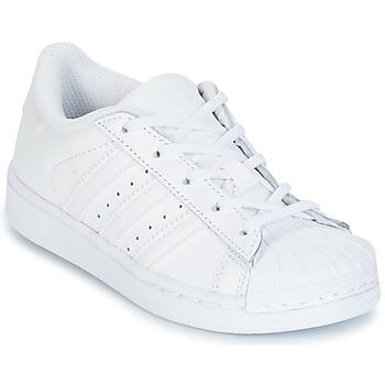 Încăltăminte Copii Pantofi sport Casual adidas Originals SUPERTSAR Alb