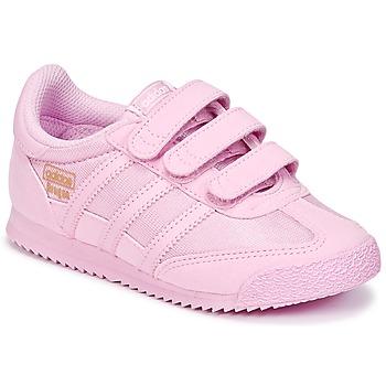 Încăltăminte Fete Pantofi sport Casual adidas Originals DRAGON OG CF I Roz