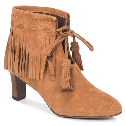 Pantofi Femei Botine See by Chloé FLARIL Coniac