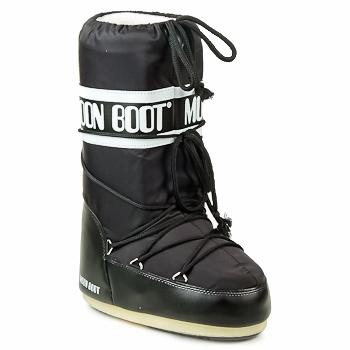Încăltăminte Femei Cizme de zapadă Moon Boot MOON BOOT NYLON Negru