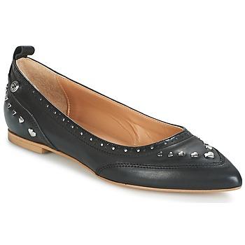 Pantofi Femei Balerin și Balerini cu curea Love Moschino JA11010G14 Negru