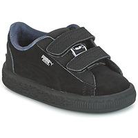 Pantofi Băieți Pantofi sport Casual Puma SUEDE BATMAN V INF Negru / Batman