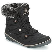 Pantofi Femei Cizme de zapadă Columbia HEAVENLY SHORTY OMNI-HEAT Negru