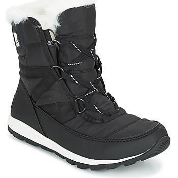 Pantofi Femei Ghete Sorel WHITNEY SHORT LACE Negru