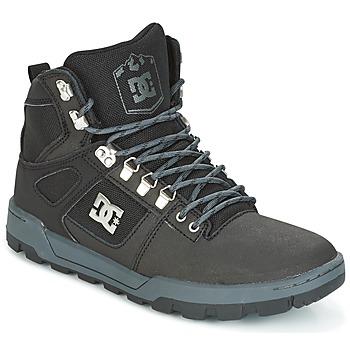 Pantofi Bărbați Pantofi sport stil gheata DC Shoes SPARTAN HIGH WR Negru / Gri
