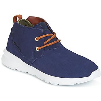 Pantofi Bărbați Ghete DC Shoes ASHLAR M SHOE NC2 Bleumarin / Camel