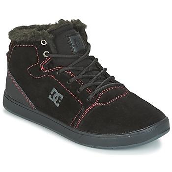 Pantofi Copii Pantofi sport stil gheata DC Shoes CRISIS HIGH WNT Negru / Roșu / Alb