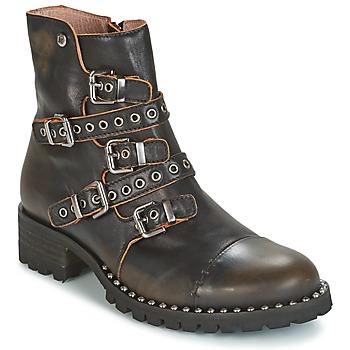 Pantofi Femei Ghete Dkode UMBRIA-BLACK-001 Negru