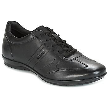 Încăltăminte Bărbați Pantofi sport Casual Geox UOMO SYMBOL Negru