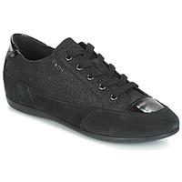 Încăltăminte Femei Pantofi sport Casual Geox D NEW MOENA Negru