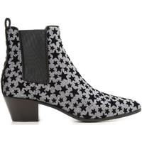 Pantofi Femei Botine Saint Laurent 443095 GRQ00 8135 Antracite