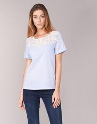 Îmbracaminte Femei Topuri și Bluze Betty London GERMA Alb / Albastru