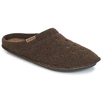 Pantofi Papuci de casă Crocs CLASSIC SLIPPER Maro