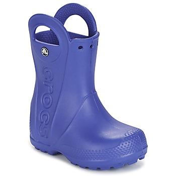 Încăltăminte Copii Cizme de ploaie Crocs HANDLE IT RAIN BOOT Albastru