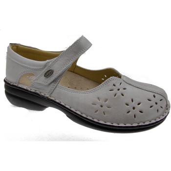 Pantofi Femei Balerin și Balerini cu curea Calzaturificio Loren LOM2313av grigio