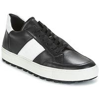 Pantofi Bărbați Pantofi sport Casual Bikkembergs TRACK-ER 966 LEATHER Negru / Alb