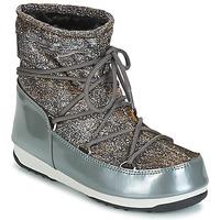 Pantofi Femei Cizme de zapadă Moon Boot MOON BOOT WE LOW LUREX Gri / Argintiu