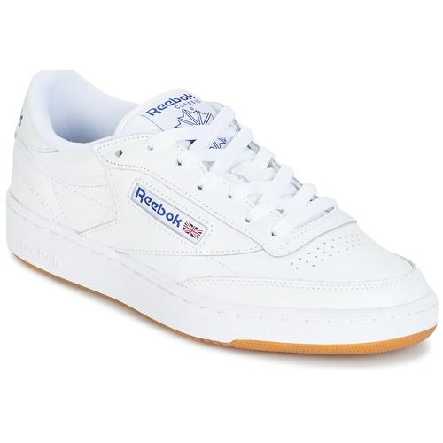 Pantofi Pantofi sport Casual Reebok Classic CLUB C 85 C Alb
