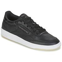 Pantofi Femei Pantofi sport Casual Reebok Classic CLUB C 85 LTHR Negru