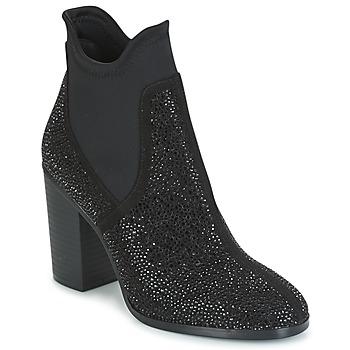 Pantofi Femei Botine Café Noir JORDE Negru