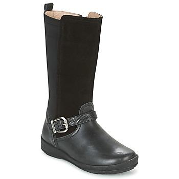 Pantofi Fete Cizme casual Garvalin NEW FLORES Negru