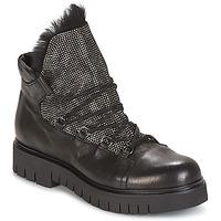 Pantofi Femei Ghete Now BIANCO Negru